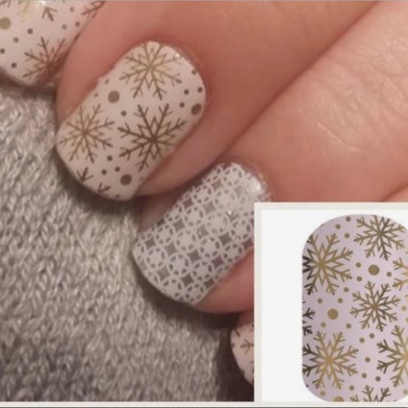 47% off jamberry Other - Jamberry nail wrap Champagne frost rare ...